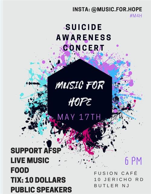 Music for Hope Suicide Awareness Concert